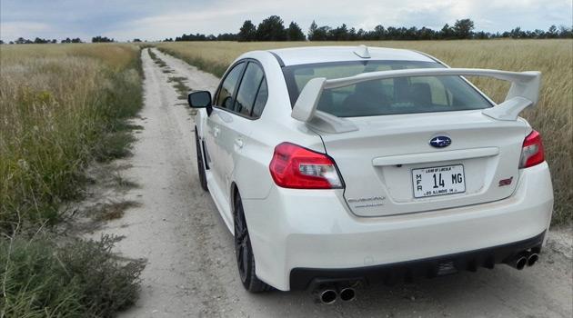 The 2015 Subaru WRX STI Is A Dirty, Dirty Speed Demon