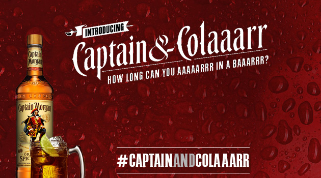 Captain Morgan - Talk Like a Pirate Day