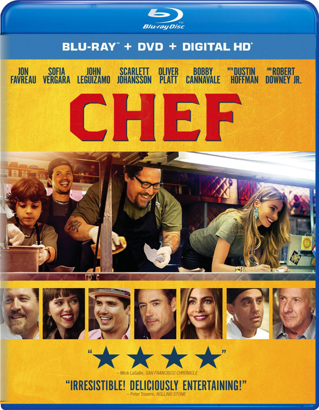Chef on Blu-ray